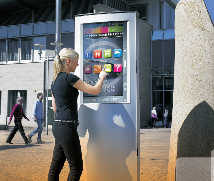 Use Of Interactive Digital Signage As A Marketing Tool