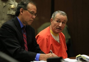 Mark Berndit, right, with attorney Manny Medrano