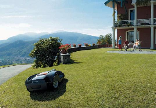Eco Friendly Robotic Lawn Mower
