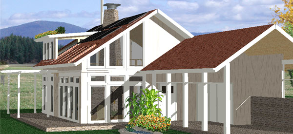 Passive Solar Energy For The Home