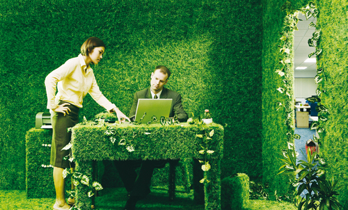 Tips on Going Green at Work, Even During a Recession
