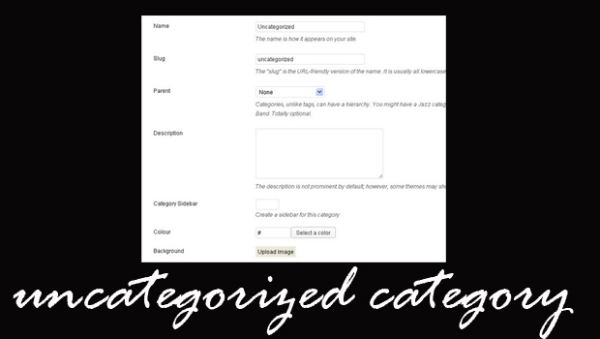 Expel uncategorized from WordPress class list