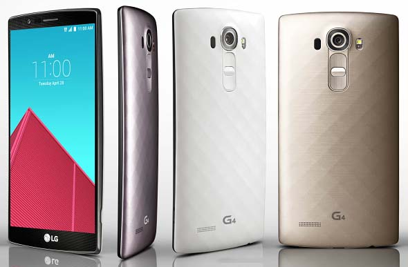 LG G4 Unveiled: 5.5-Inch QHD With Snapdragon 808