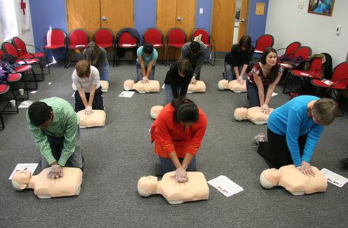 When In Las Vegas, Take A CPR Class