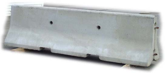 jersey concrete barrier