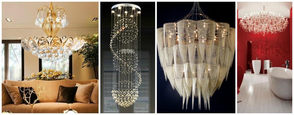 Luxurious chandelier ideas.
