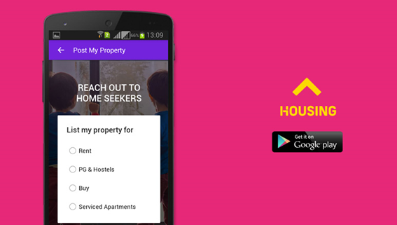 Looking For Property Then Get The Help From Housing Real Estate & Property App