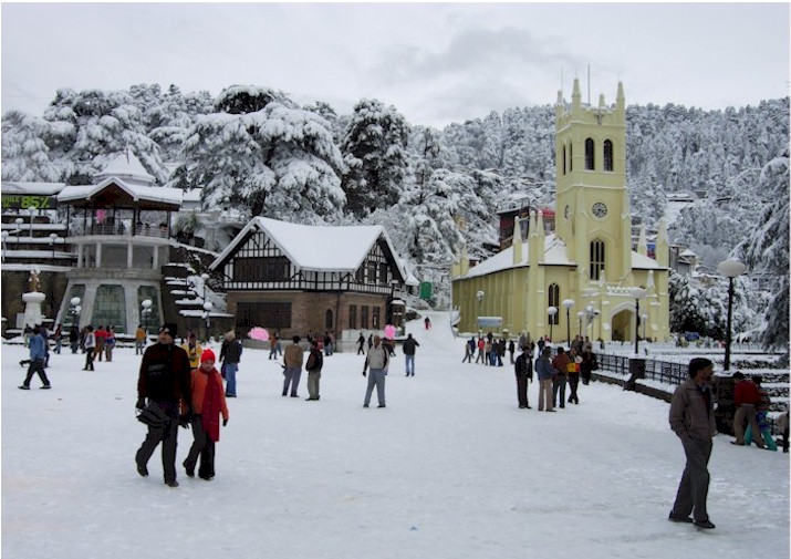 Shimla - A Tranquil Town Highly Blessed By Mother Nature and Exhibiting The Best Of Himachal Pradesh Tourism