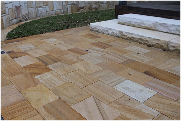 Why Sandstone Pavers A Good Overall Investment When Renovating