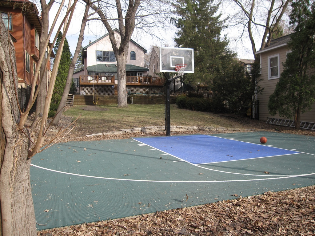 Backyard Basketball Court: How To Create One