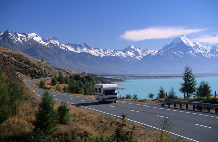 Experience New Zealand Using A Self-Drive Campervan