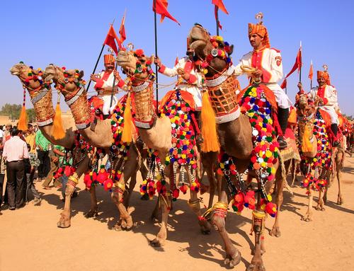 Enjoying The Festivals In The Desert City Of Jaisalmer