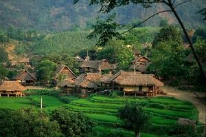 North_Vietnam_Stilt_Houses