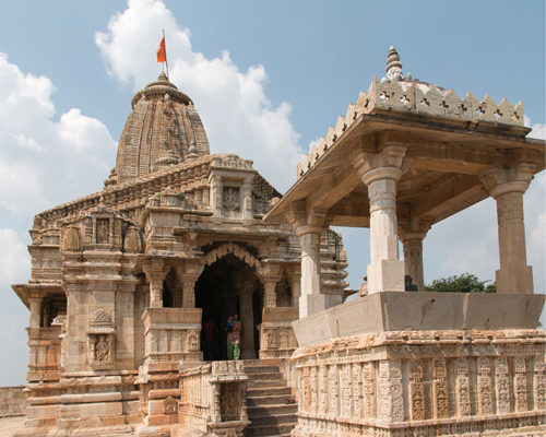 On A Temple Trail To Chittorgarh