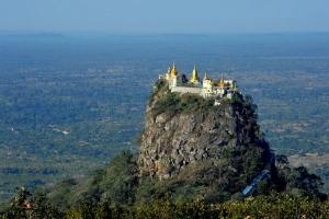 Taung Kalat Monastery-Burma