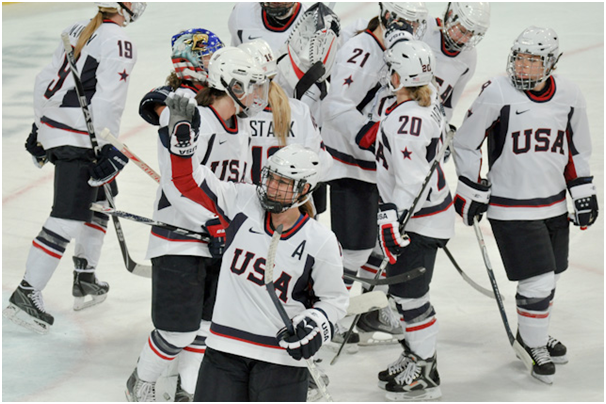 USA Hockey Team Victorious Against Chile