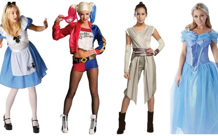 Womens Movie Halloween Costumes