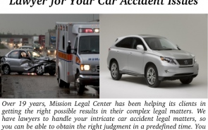 Solving Car Accident Legal Matters And Dealing With Professional