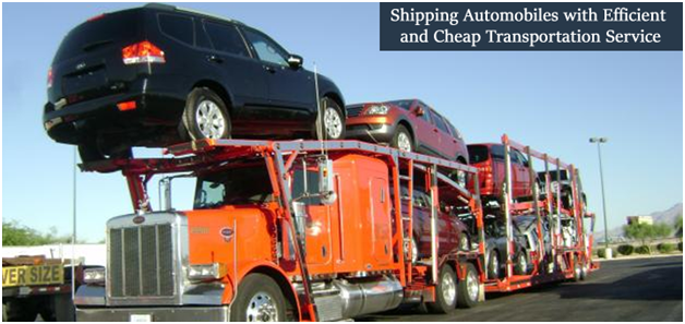 Shipping Automobiles with Efficient and Cheap Transportation Service