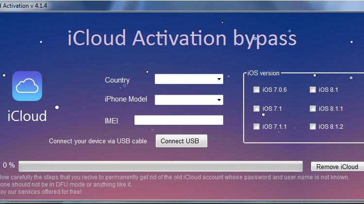 iCloud Bypass Software For Any iPhone Device