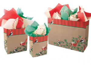 laminated boutique gift bags