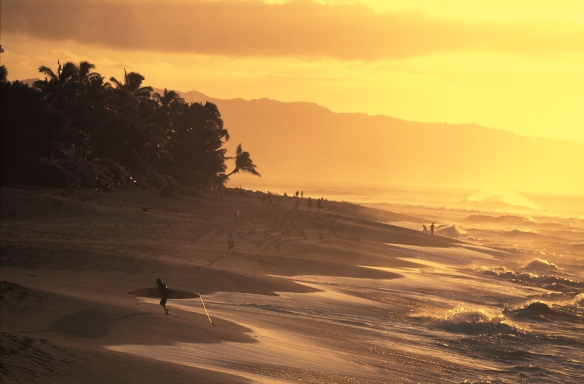 Sunset Beach Honolulu