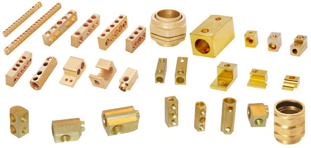 Brass electric accessories