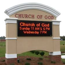 Make Your Church So Visible and Exposed Among The Devotees Using Signs