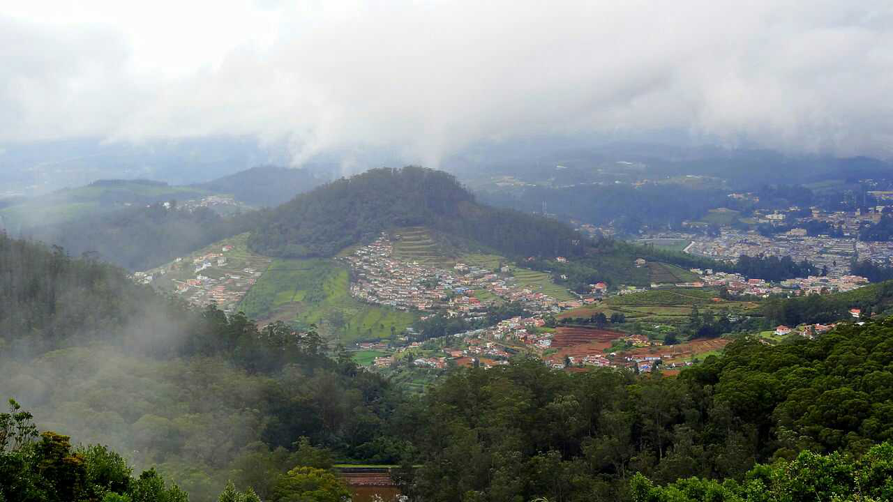 Coimbatore To Ooty : Moving Through God's Very Own Territory