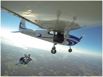 Skydiving in DC