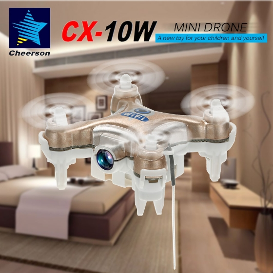 Main Uses Of Quadcopters Like Cheerson Cx-10w