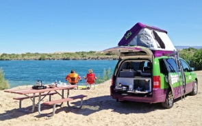 Why Is A Campervan Perfect For People Travelling On A Budget