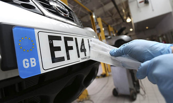 DVLA Permits Personalized Registration Plates To Motorists