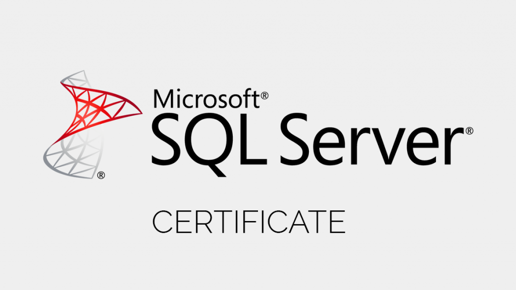 Why MCSA SQL Server Certification Is Important For Database Administrators