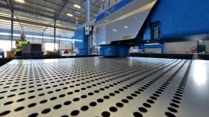 CNC Punching Sheet Metal Components