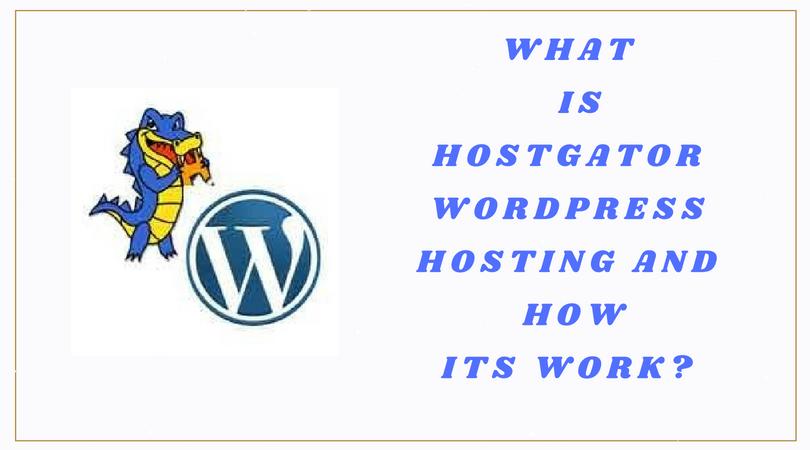 HostGator WordPress Hosting
