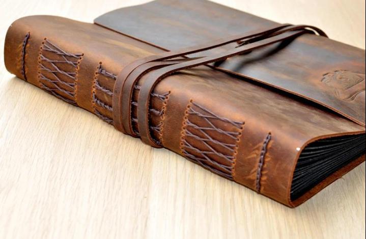 western leather camera strap