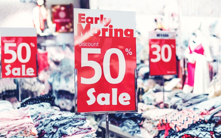 Shop early morning to save money