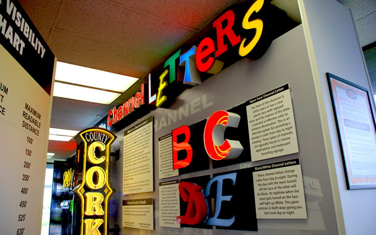 CHANNEL LETTER SIGNS AN OBVIOUS CHOICE TO BOOST YOUR BUSINESS
