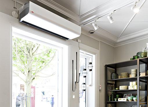 Mars Air Door - An Industrial Air Curtains For Doorways & Restaurants